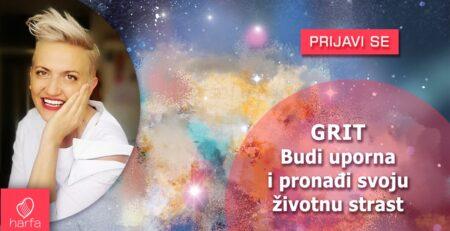 Nova radionica Irene Orlović! GRIT: Budi uporna i pronađi svoju životnu strast