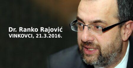 Dr. Ranko Rajović u Vinkovcima